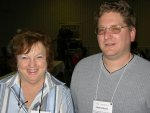 Mary Lou and Shane at Orlando Internet Superconference December 2004